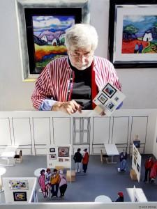 Modell Sylt-Ausstellung
